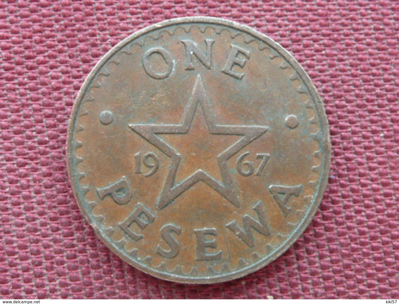 GHANA Monnaie De One Pesewa 1967 Superbe état - Ghana