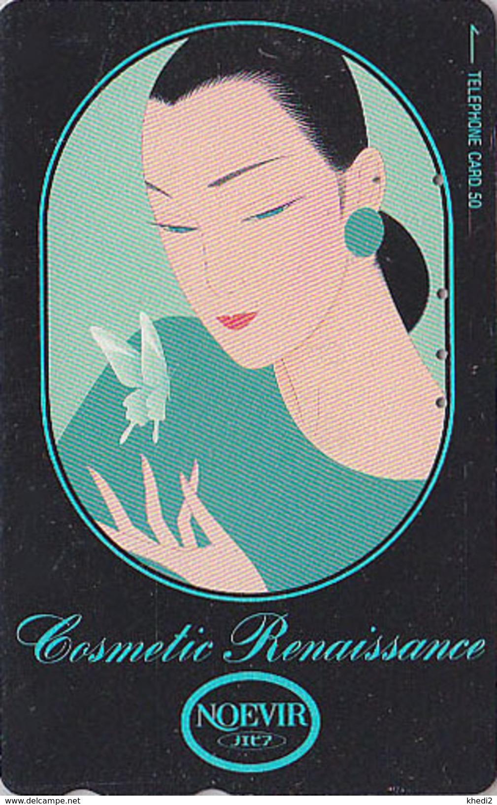 Télécarte Japon / 110-141629 - Cosmétiques NOEVIR / Femme Girl - Japan Cosmetics Cosmetic Phonecard Parfum Perfume - 204 - Parfum