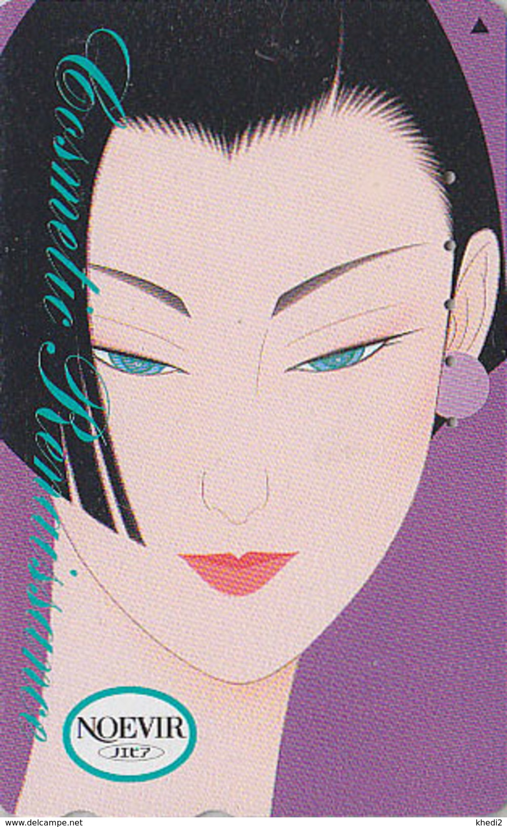 Télécarte Japon / 110-189104 - Cosmétiques NOEVIR / Femme Girl - Japan Cosmetics Cosmetic Phonecard Parfum Perfume - 209 - Parfum