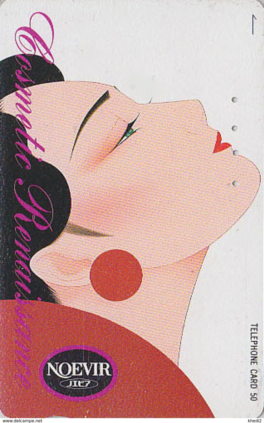 Télécarte Japon / 110-106816 - Cosmétiques NOEVIR / Femme Girl - Japan Cosmetics Cosmetic Phonecard Parfum Perfume - 214 - Parfum