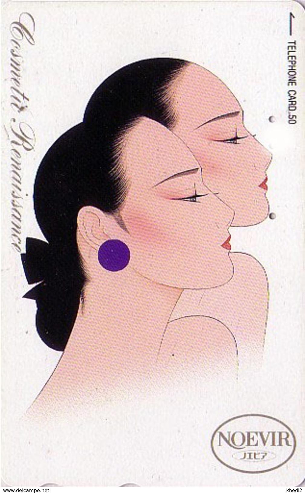 Télécarte Japon / 110-125265 - Cosmétiques NOEVIR / Femme - Girl Japan Cosmetics Phonecard Parfum Perfume - 228 - Parfum