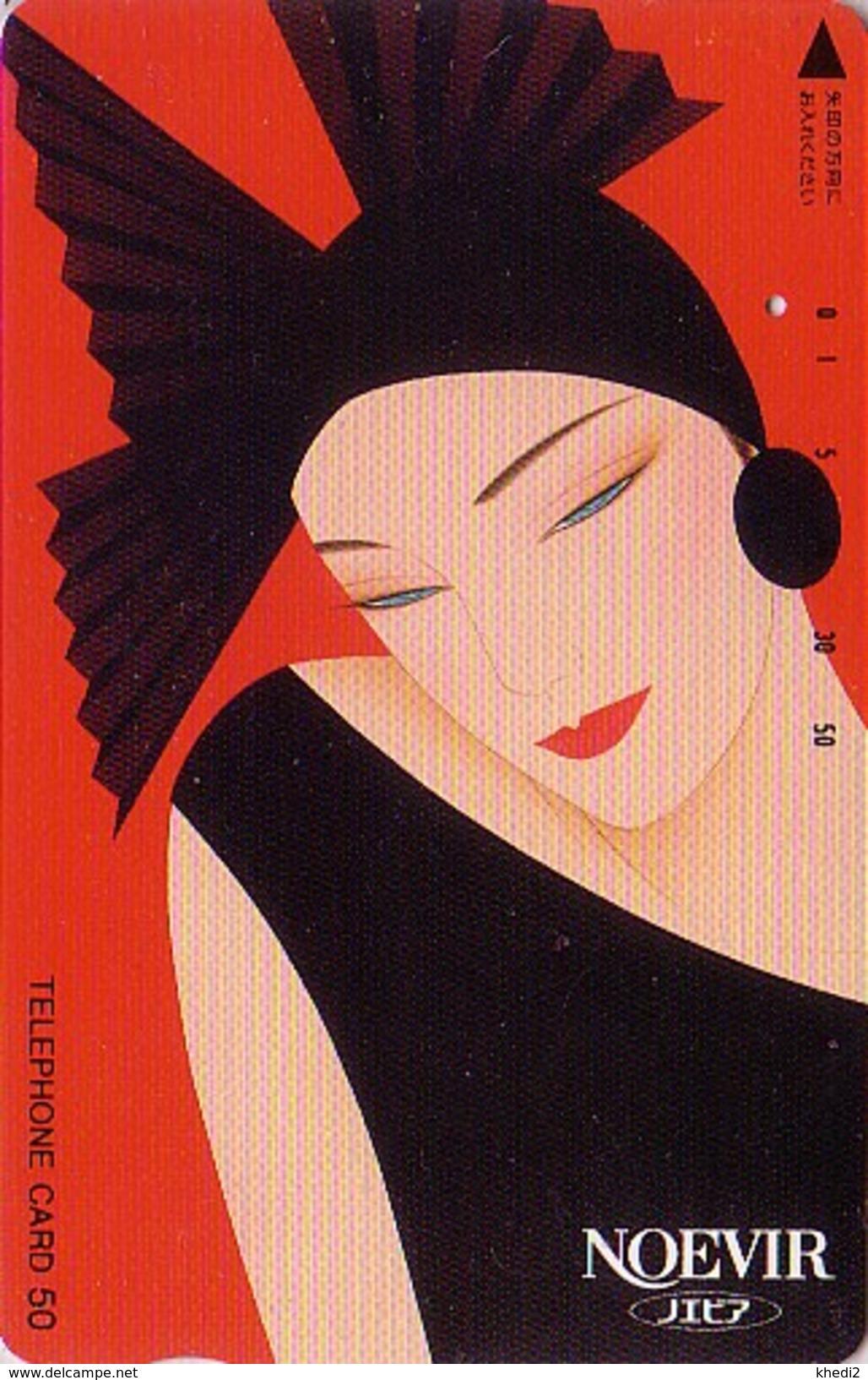 Télécarte Japon / 110-28535 - Cosmétiques NOEVIR / Femme ** ONE PUNCH ** - Girl Japan Phonecard Parfum Perfume - 237 - Parfum