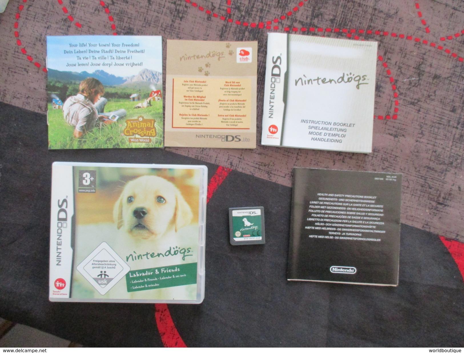 JEU NITENDO DS NITENDOGS Labrador Et Friends  (complet Voir Photo ) - Nintendo 64