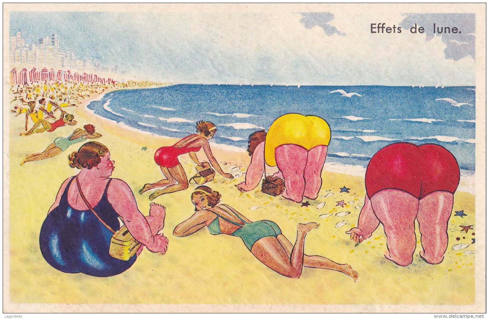 EFFETS DE LUNE - Contemporain (à Partir De 1950)