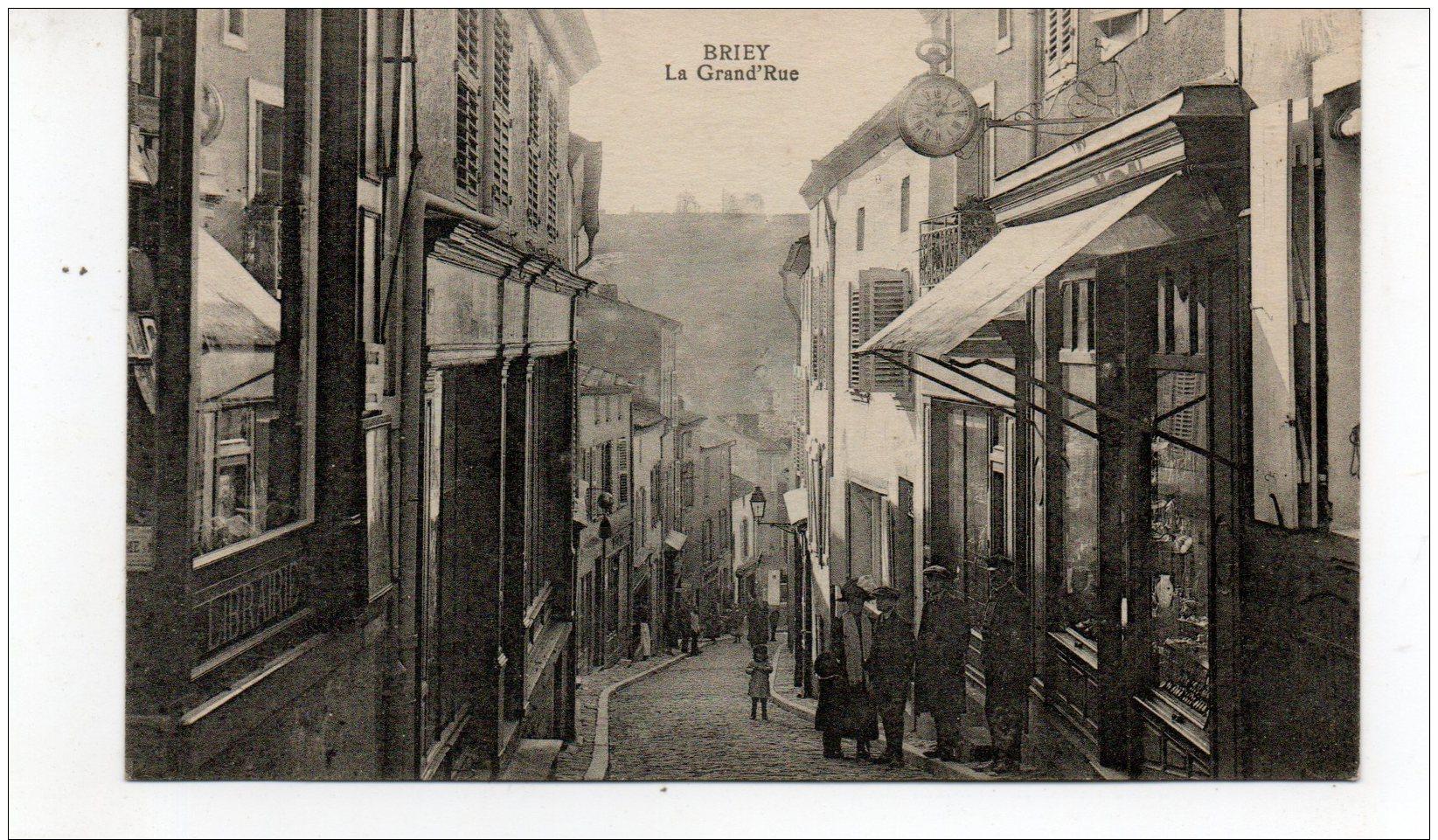 BRIEY  La Grand Rue  Librairie - Briey