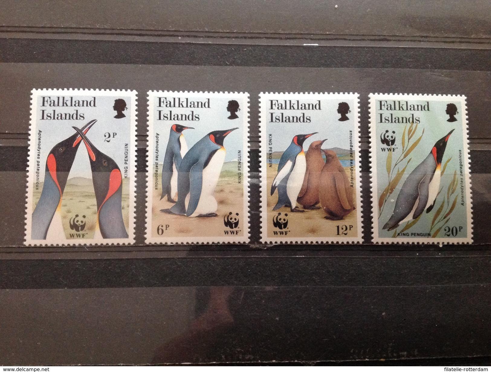 Falkland Islands - Postfris / MNH - Set WWF, Pinguïns 1991 - Falklandeilanden