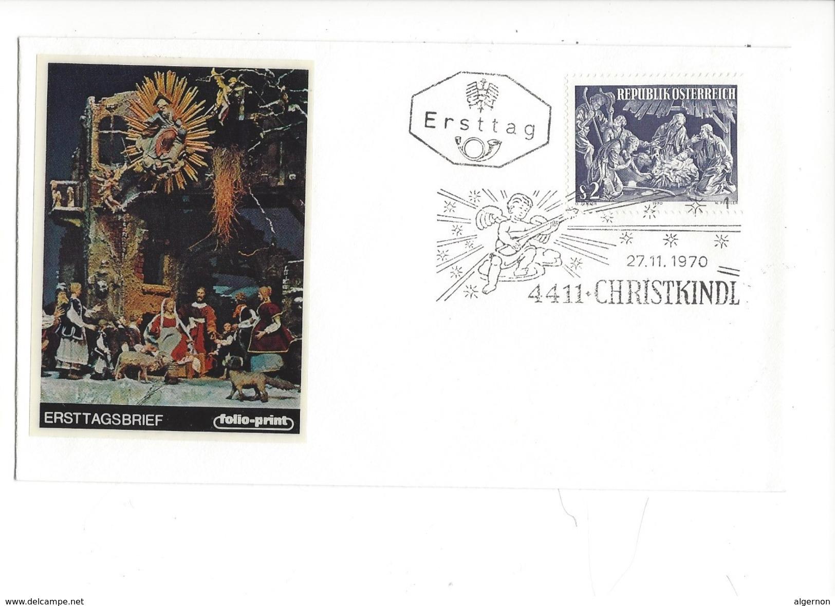 16021 - Christkindl Cover 27.11.1970 - Noël