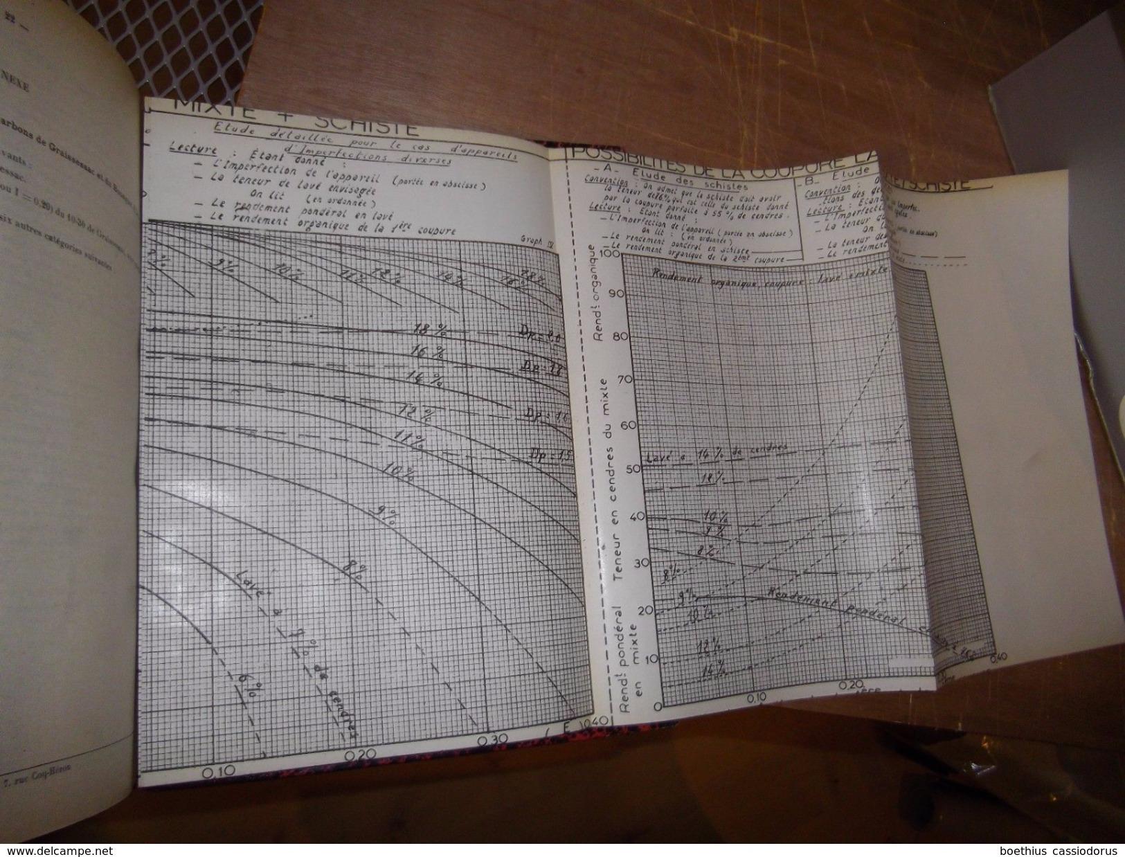 @ Mines, Mine, Charbon...Notes Techniques Du CERCHAR 1950/1951 Centre D'Etudes Et Recherches Des Charbonnages De France - Sciences