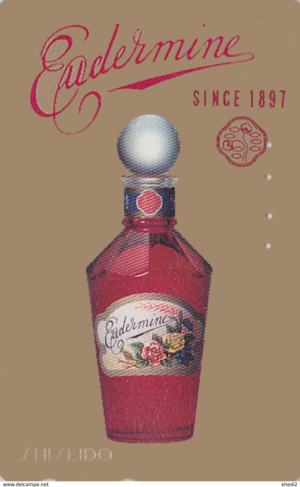 Télécarte Japon / 110-016 - PARFUM - EUDERMINE SHISEIDO - PERFUME Japan Phonecard - PARFÜM Telefonkarte - 241 - Parfum