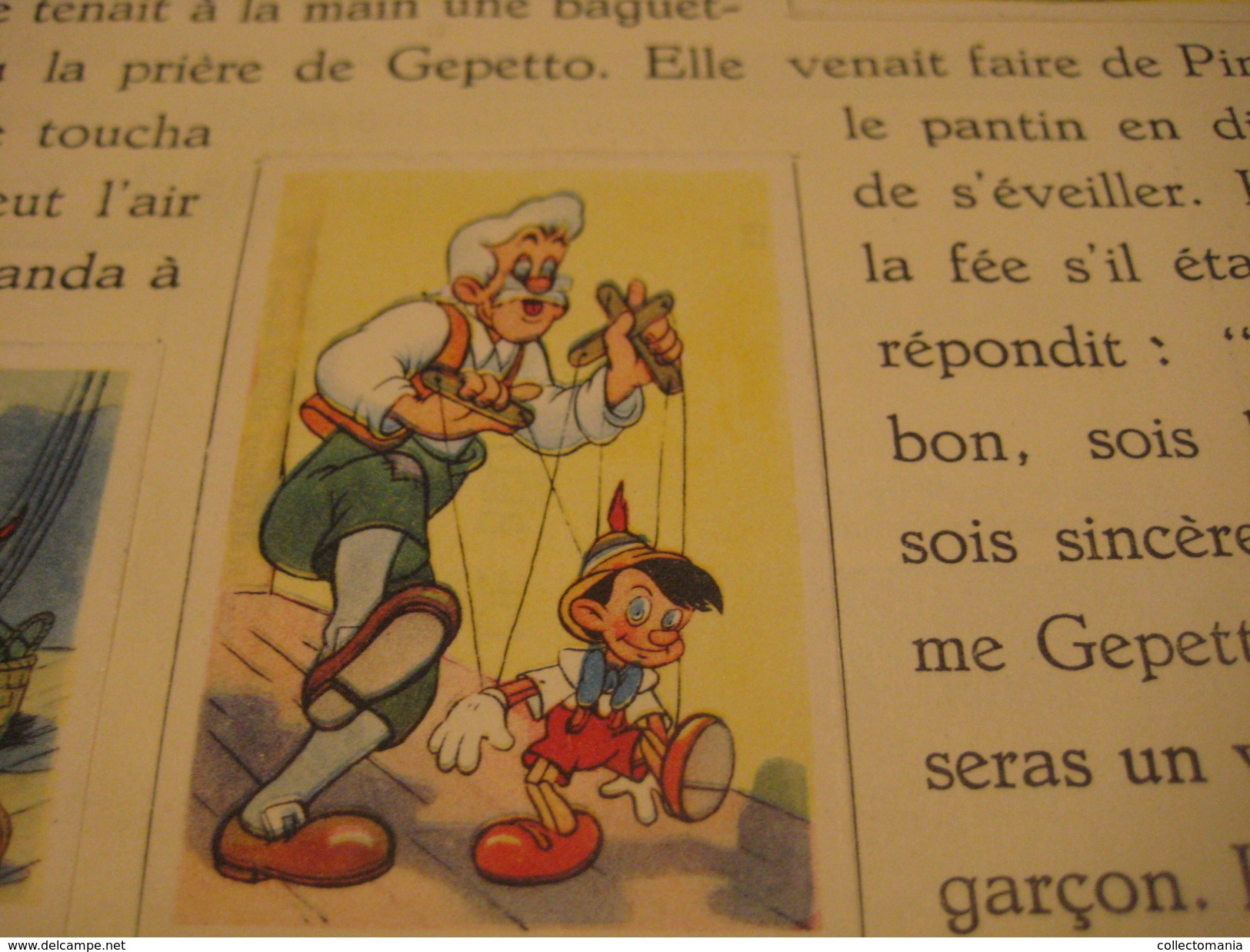 4 Complete Sets1938 To 1950 De Beukelaer, In Albums, Disney, Chocolat Cards Robin Hood,3 Pigs, Peter Pan, Pinocchio VG - Other