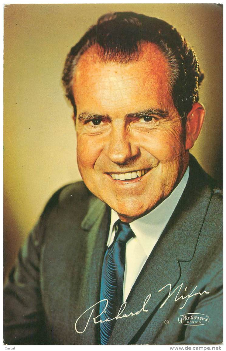RICHARD M. NIXON - 1968 - Hommes Politiques & Militaires