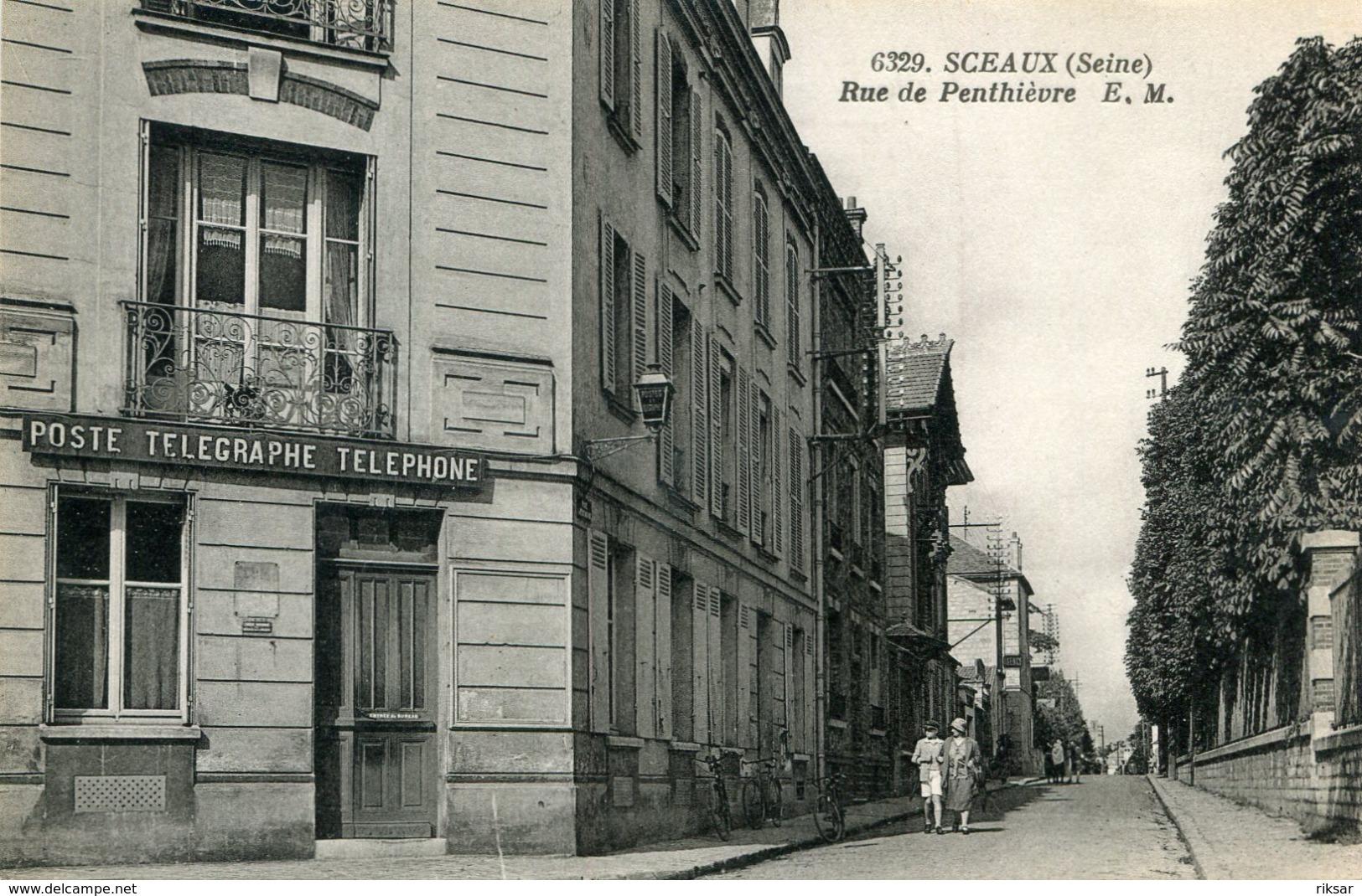 SCEAUX(POSTE) - Sceaux