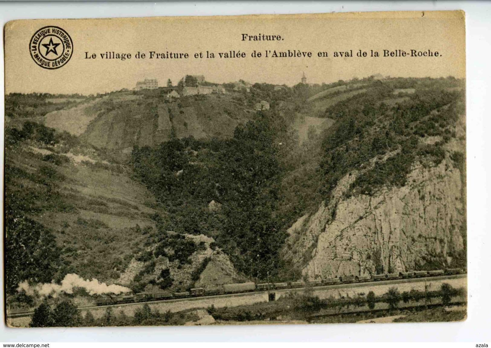A 18888   -   Fraiture  -  Le Village De Fraiture Et La Vallée De L'Amblève En Aval De La Belle-Roche - Tinlot