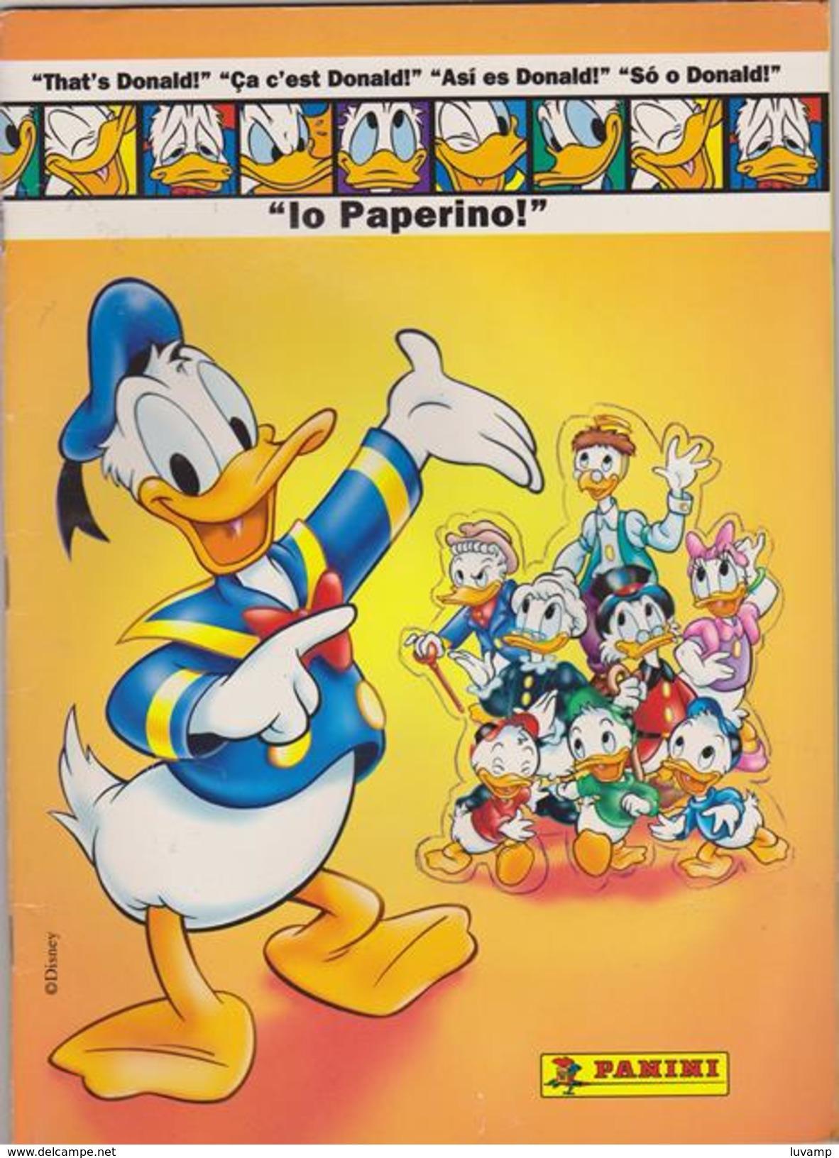 IO PAPERINO -ALBUM FIGURINE PANINI DEL 1997  (161114) - Panini