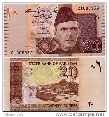 PAKISTAN       20 Rupees     P-46a     2005      UNC - Pakistan