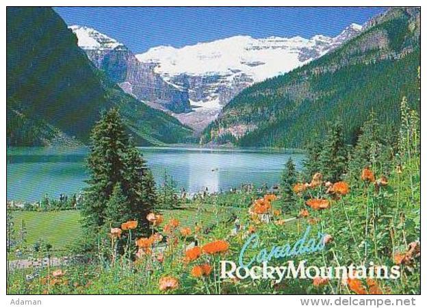 Canada        H53        Lake Louise And Victoria Glacier - Lac Louise