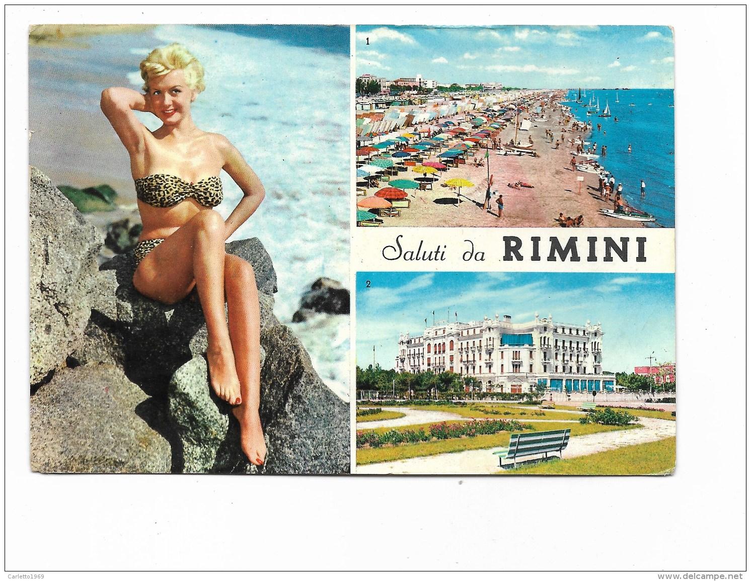 SALUTI DA RIMINI VIAGGIATA FG - Rimini