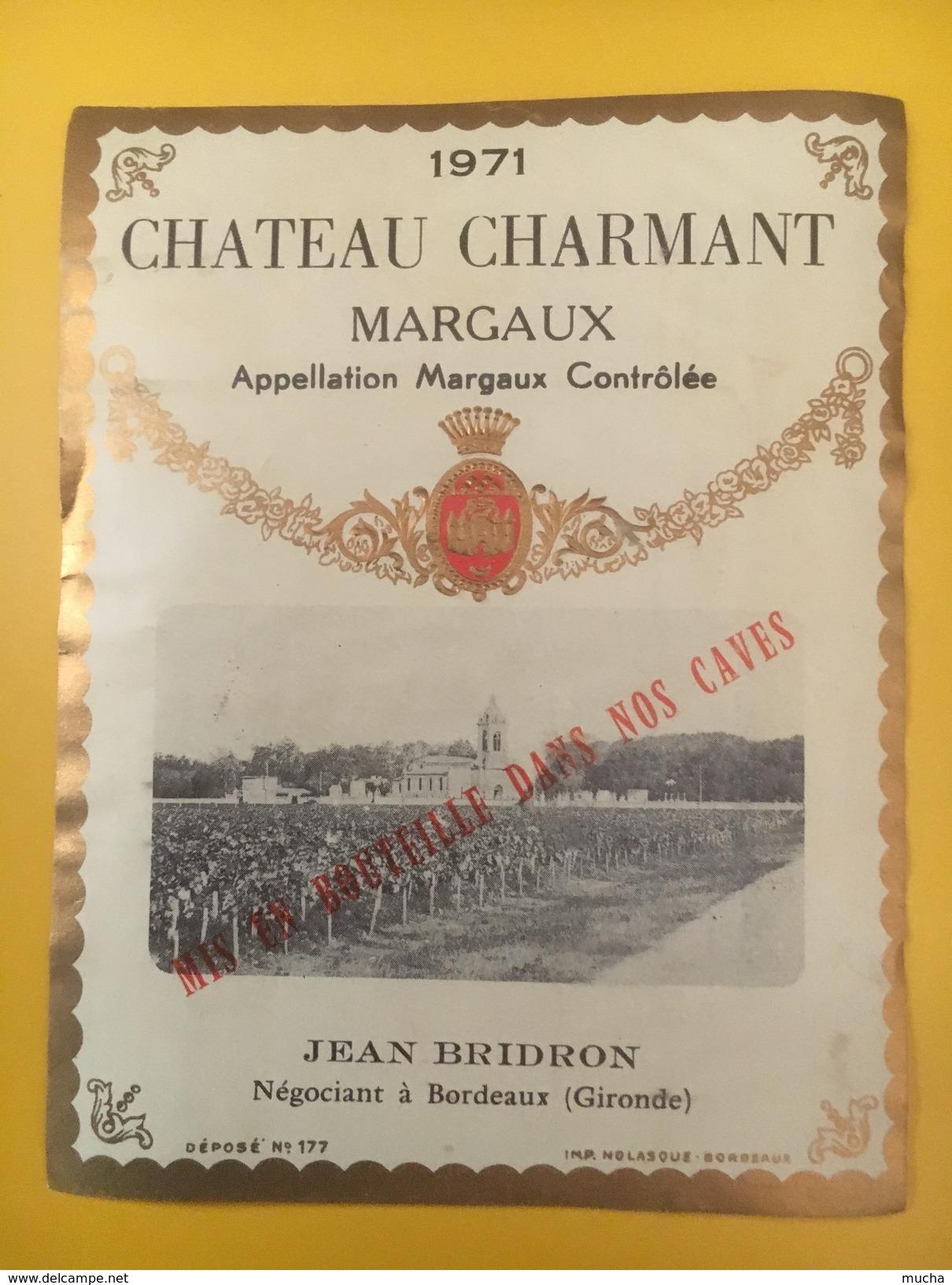 2796 - Château Charmant 1971 Margaux - Bordeaux
