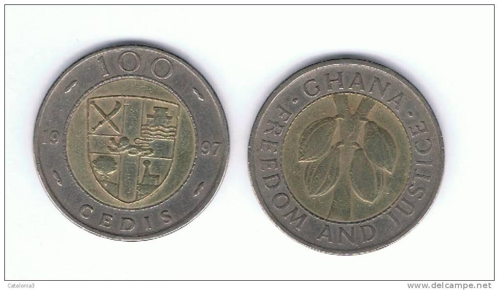 GHANA -  100 Cedis 1997  KM32 - Ghana