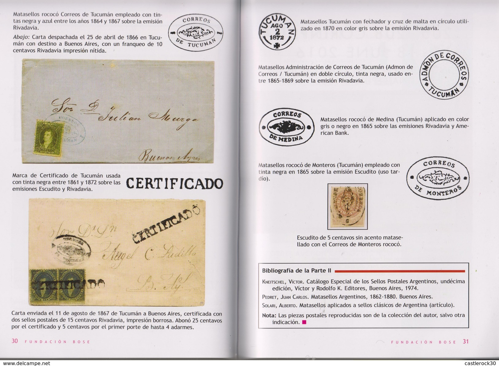 RO) 2016 ARGENTINA, BOOK-MAGAZINE CLASSIC STAMPS AND CANCELLATIONS FUNDACION BOSE  N°19 OF MAYO 2016, WITH LOTS - Books, Magazines, Comics