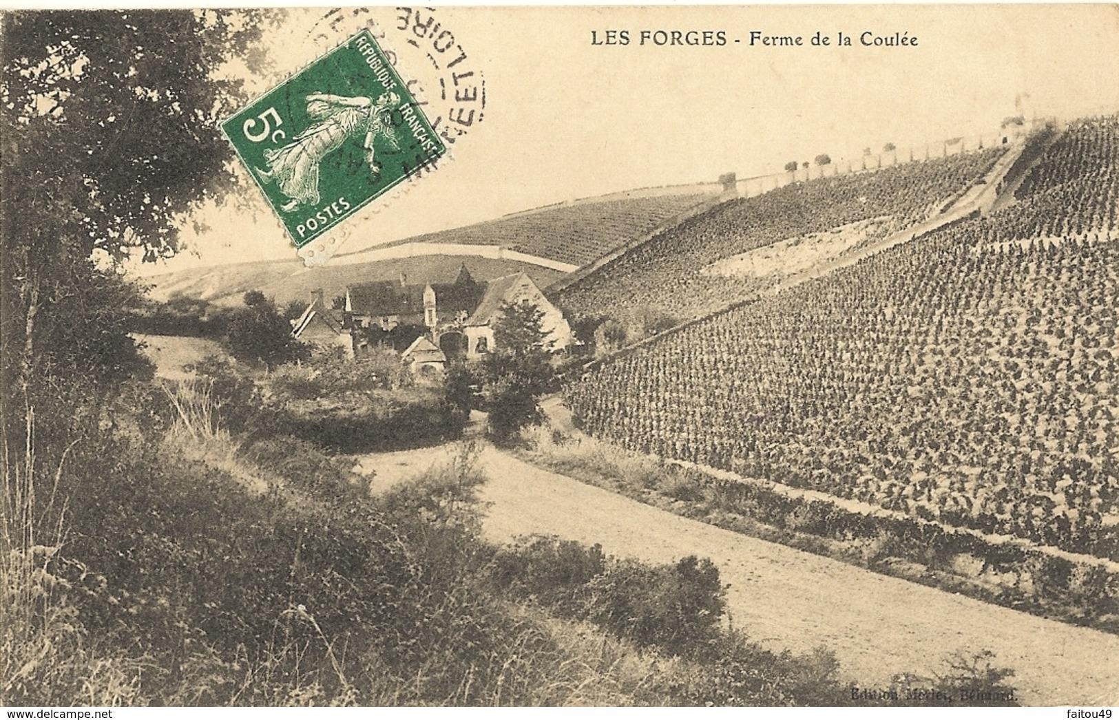 LES FORGES - Ferme De La Coulée  (environ Doue La Fontaine)    99 - Other Municipalities
