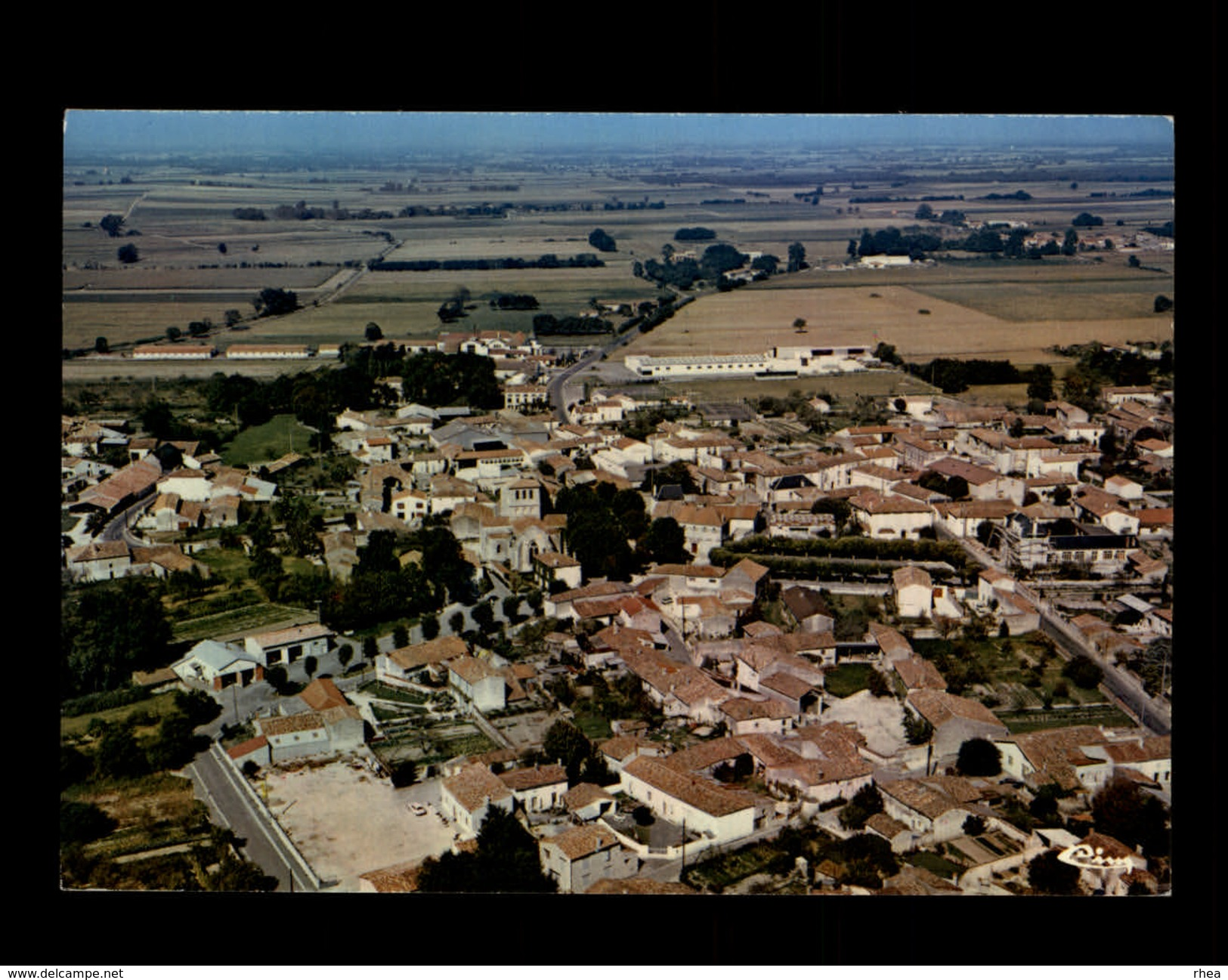 17 - NERE - Vue Aérienne - Autres Communes