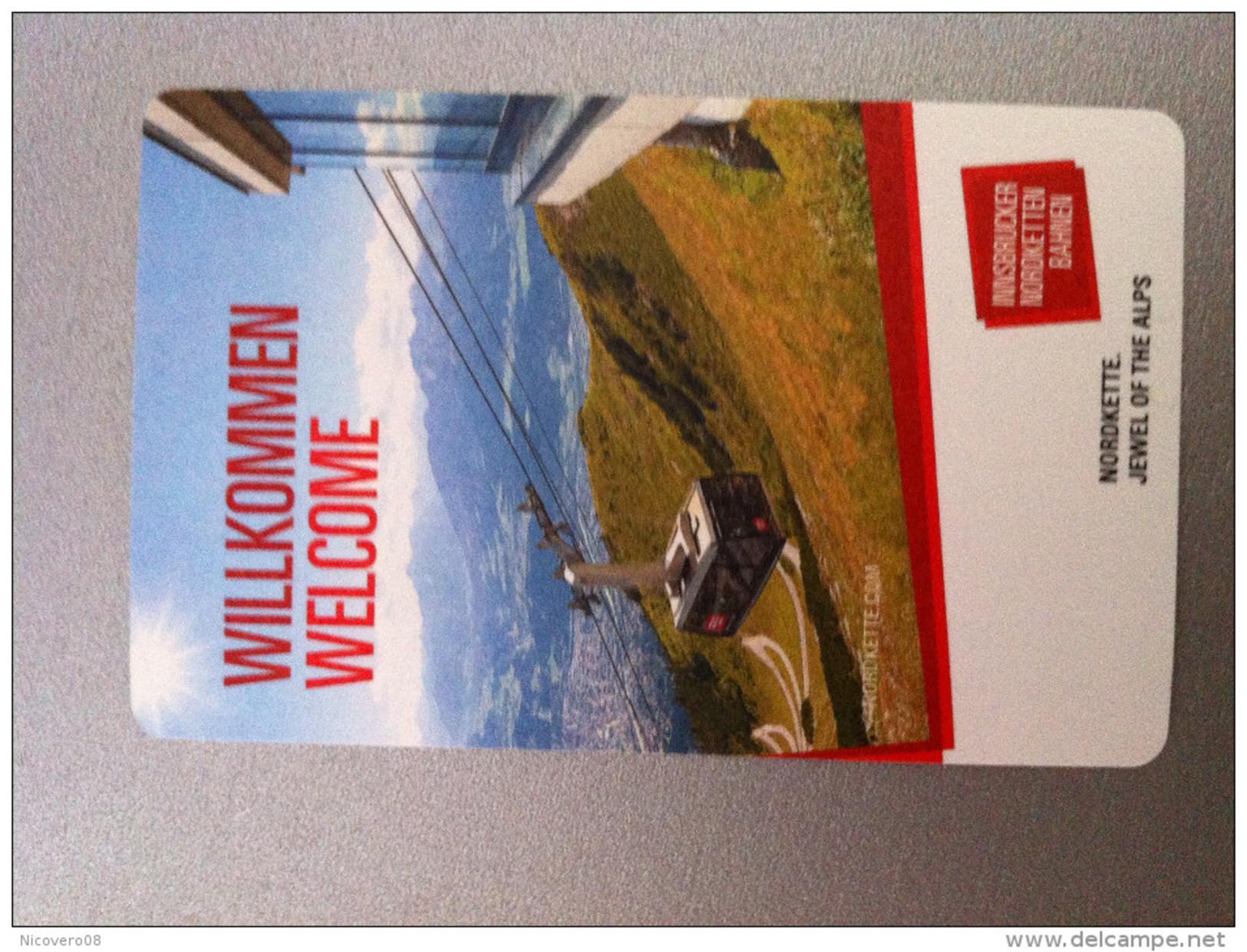 Ticket De Metro Alpes Innsbruck - Europe
