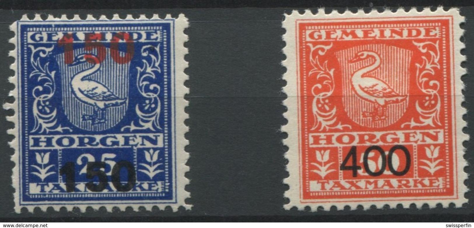 1558 - HORGEN - Fiskalmarken - Steuermarken