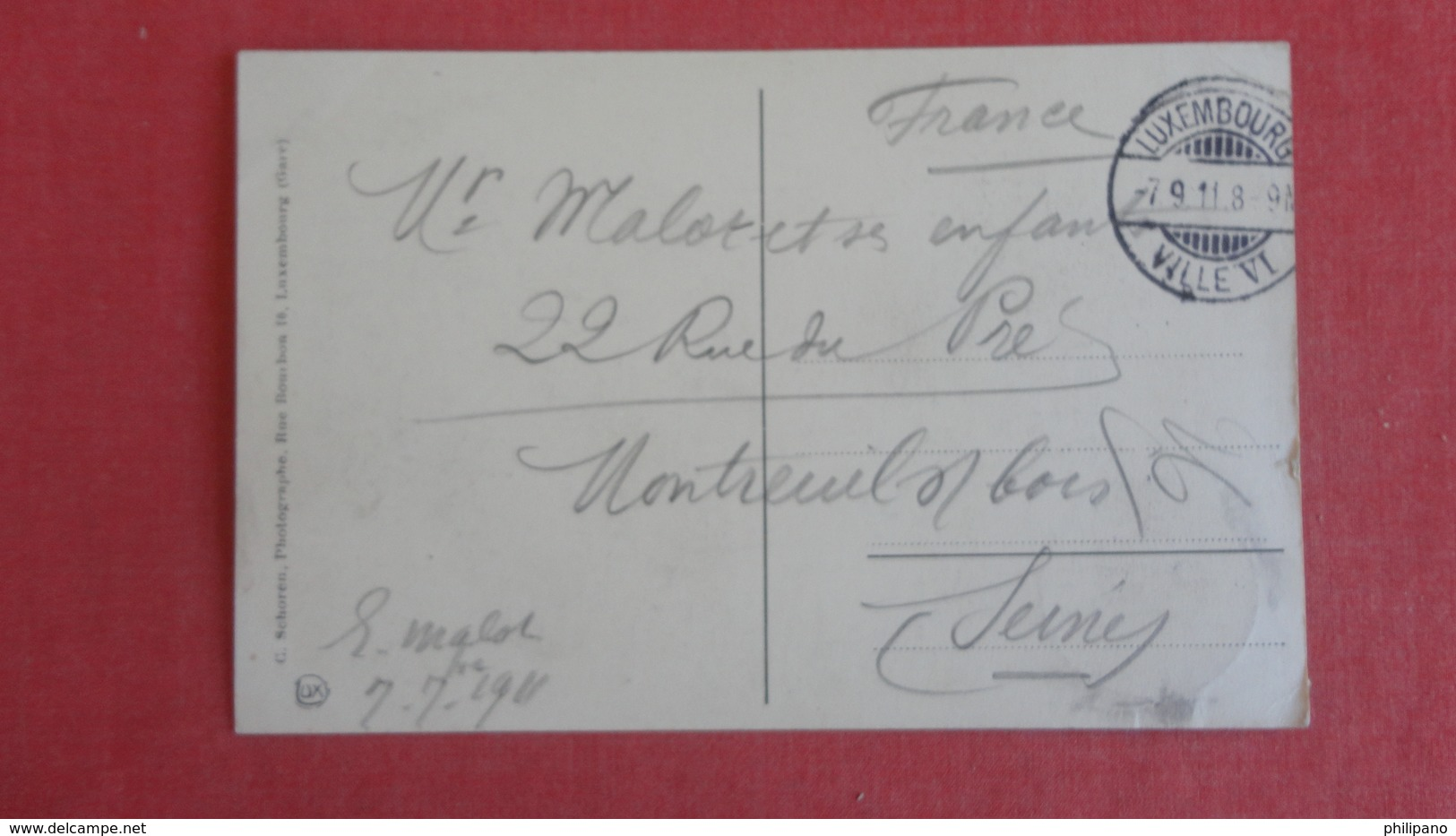 Luxembourg-     Has  Stamp & Cancel-----ref 2436 - Andere