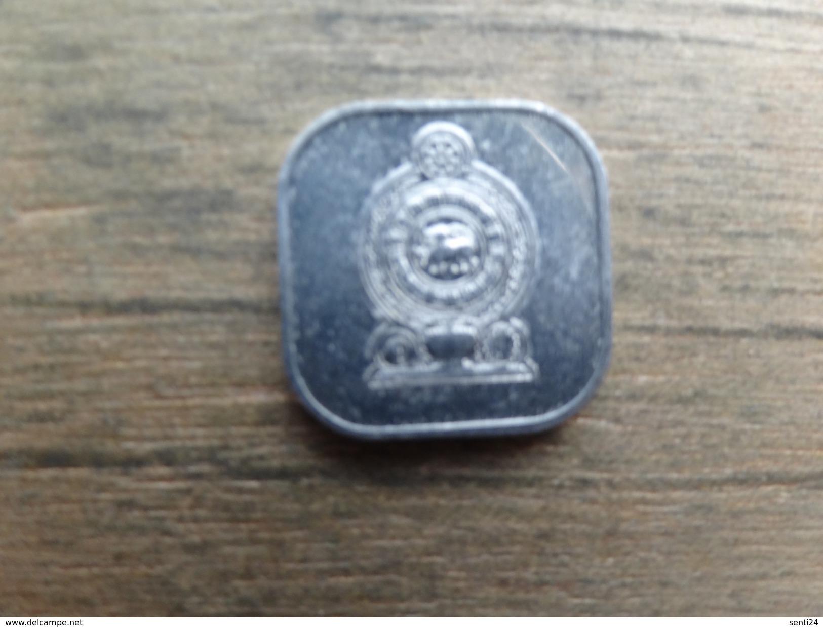 Sri-lanka  5  Cents 1988  Km 139 - Sri Lanka