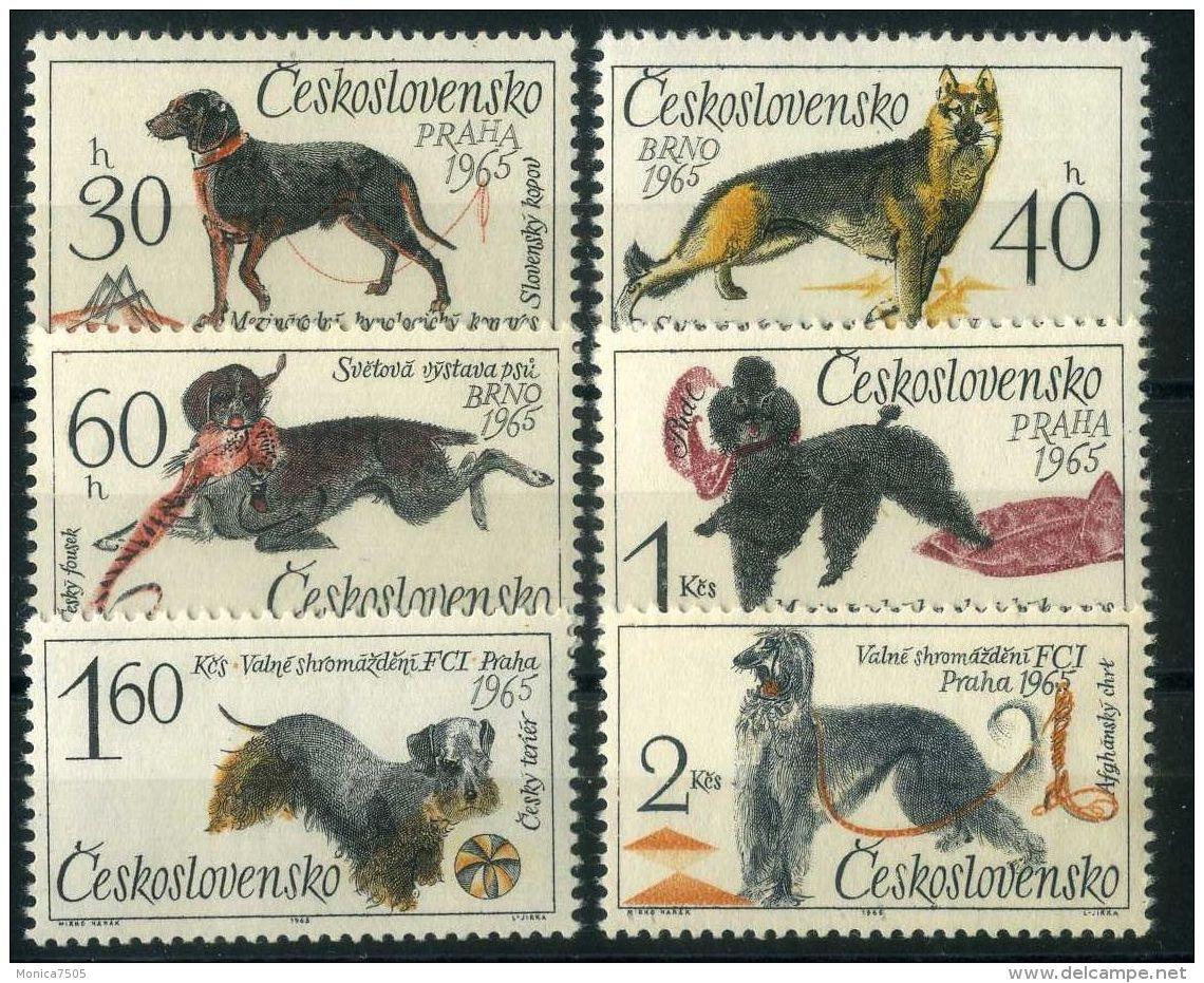 TCHECOSLOVAQUIE  (  POSTE ) : Y&T  N°  1408/1413   TIMBRES  NEUFS  SANS  TRACE  DE  CHARNIERE , A  VOIR . - Tschechoslowakei/CSSR