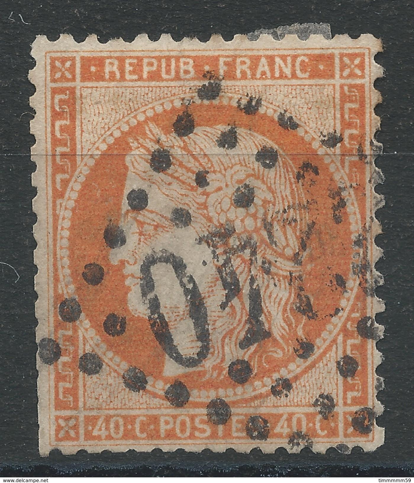 Lot N°33887   Variété/n°38, Oblit GC 2240 MARSEILLE (12, Fond Ligné Horizontal - 1870 Siege Of Paris