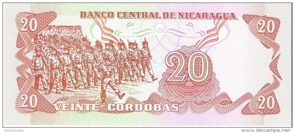 Nicaragua - Pick 135 - 20 Cordobas 1979 - Unc - Nicaragua