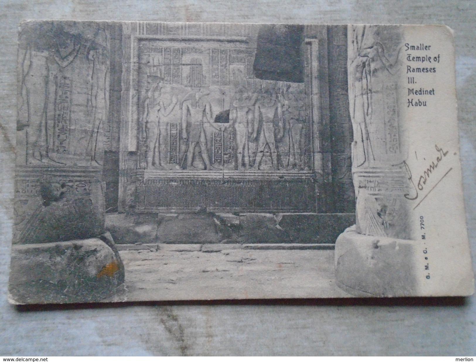 D144858 Egypt Egypte - Smaller Temple Of Rameses III. Medinet Habu   Ca 1900 - Unclassified