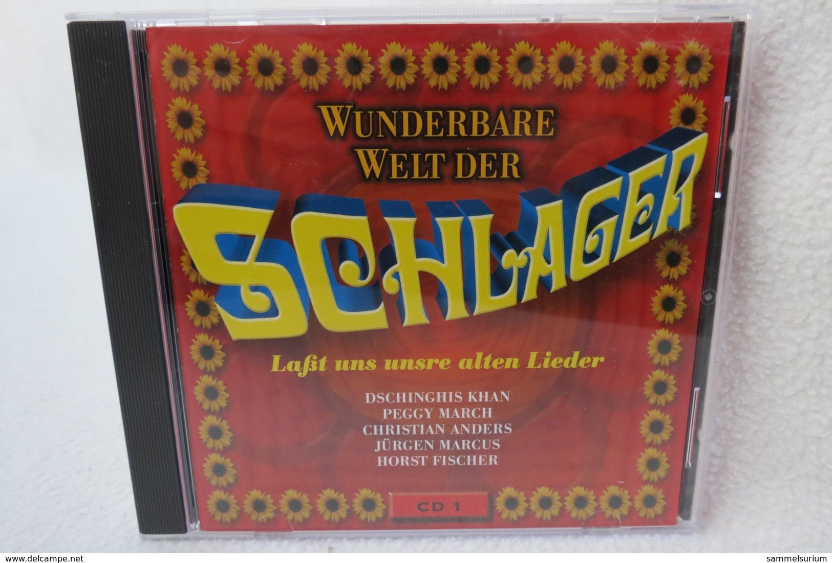 """CD """"Wunderbare Welt Der Schlager"""" Laßt Uns Unsre Alten Lieder, CD 1 - Musik & Instrumente"""
