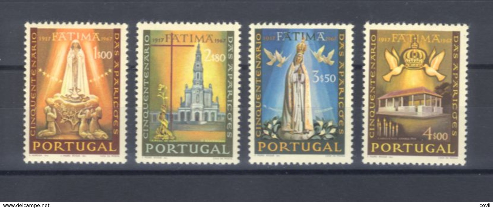 PORTUGAL 1967 Afinsa 1000/3 MNH P-38 - 1910-... República