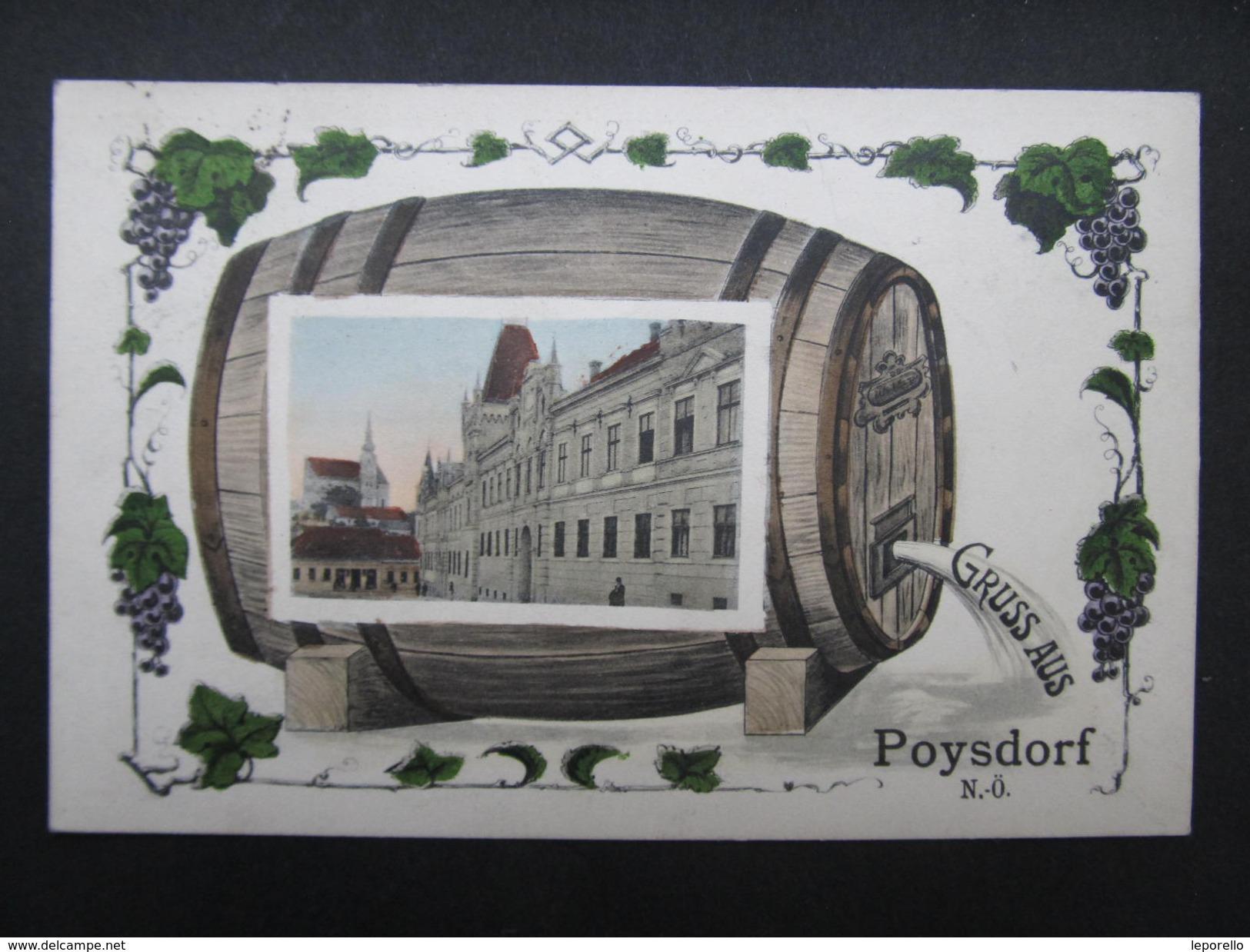 AK POYSDORF B.Mistelbach Collage Ca.1910  ///  D*21913 - Mistelbach