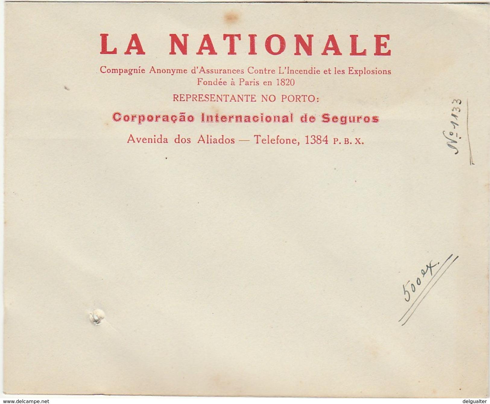 Cover :: La Nationale :: Porto :: Holed - Publicités