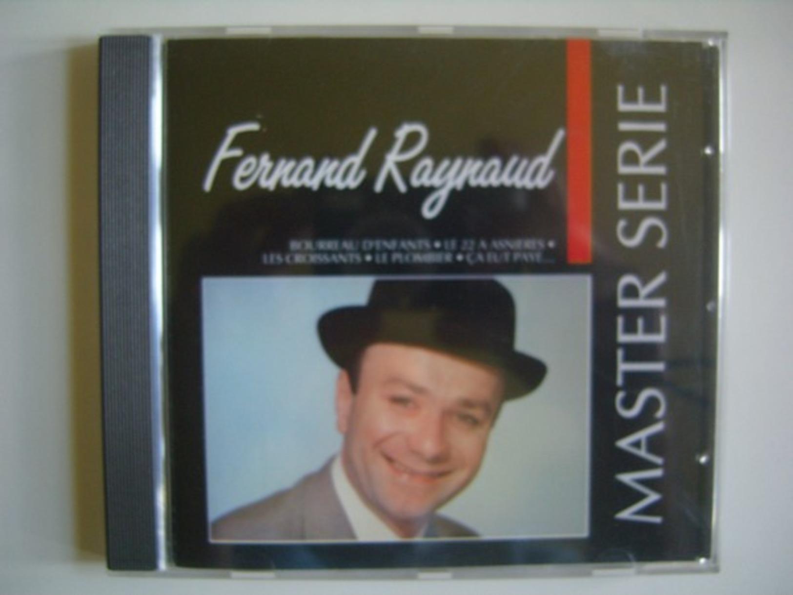 CD Album De Fernand Raynaud - Master Série - Humor, Cabaret