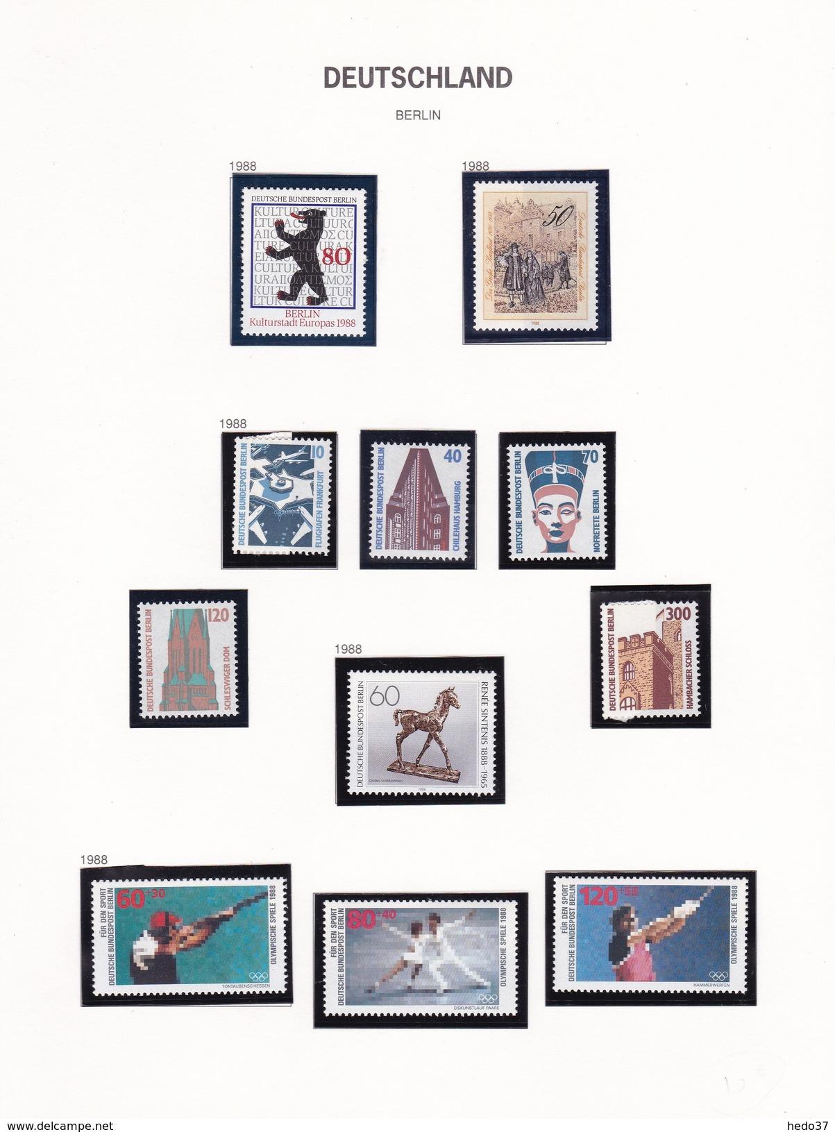 Berlin - Collection Vendue Page Par Page - Timbres Neufs ** Sans Charnière - TB - [5] Berlin
