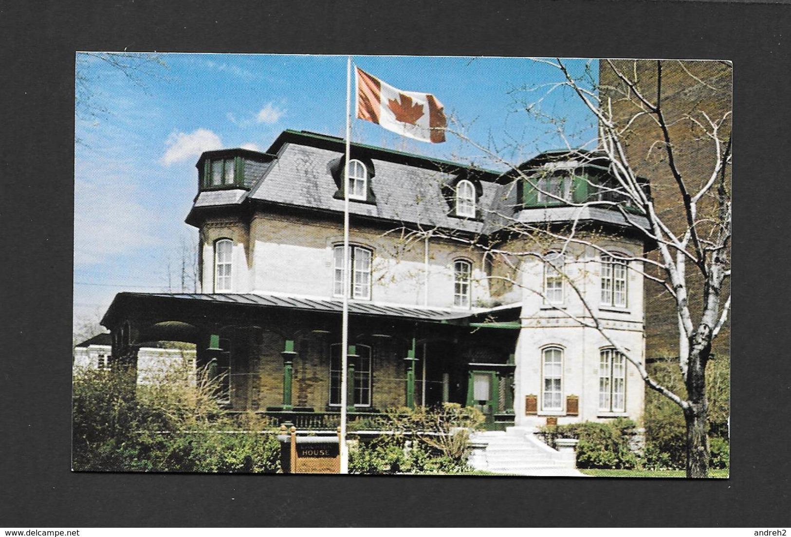OTTAWA - ONTARIO - LAURIER HOUSE- LA MAISON LAURIER - BY DONALD KEYES - Ottawa