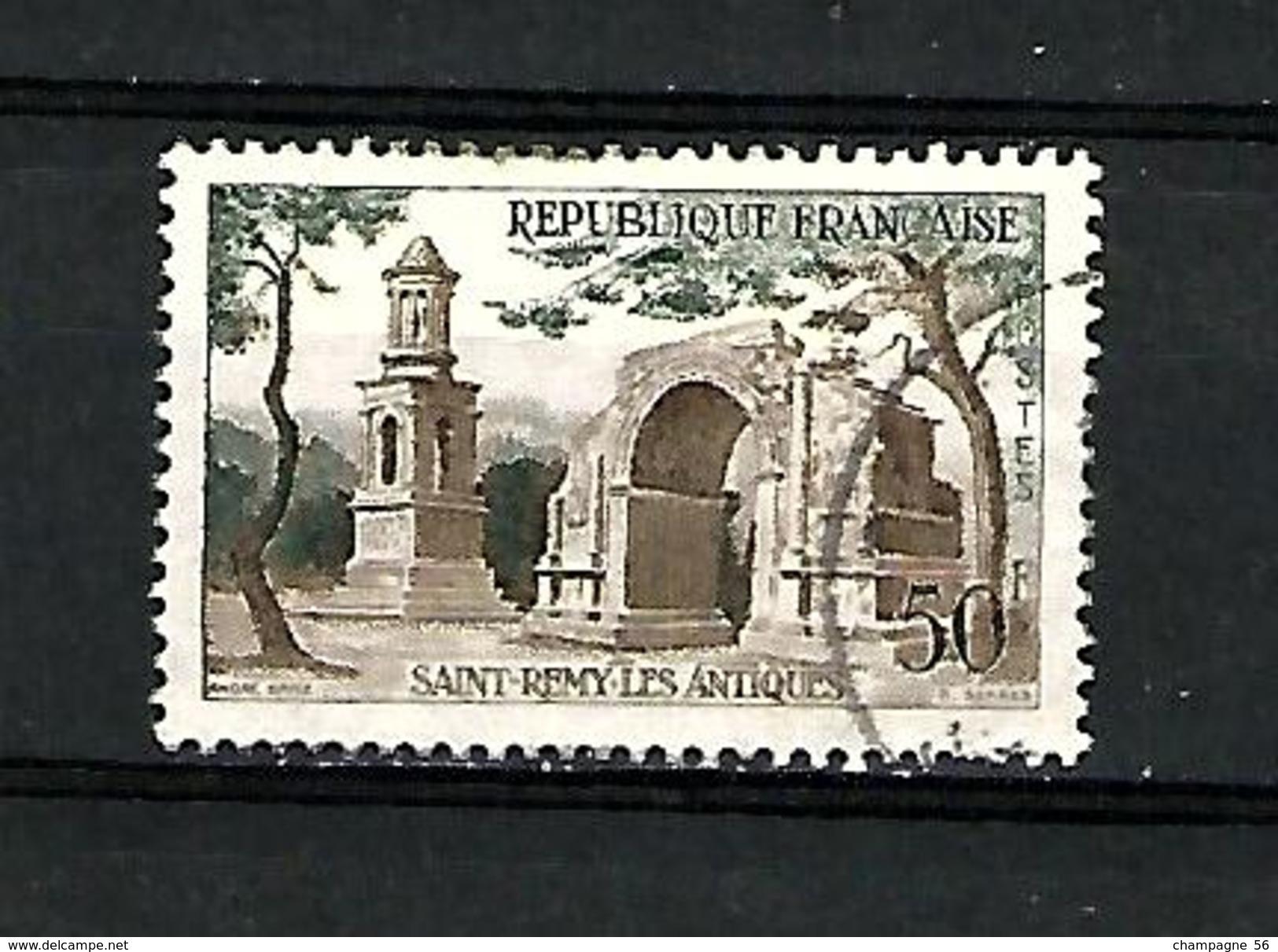 * 1957 N° 1130 ST REMY LES ANTIQUES OBLITÉRÉ TB - Varieties: 1950-59 Used