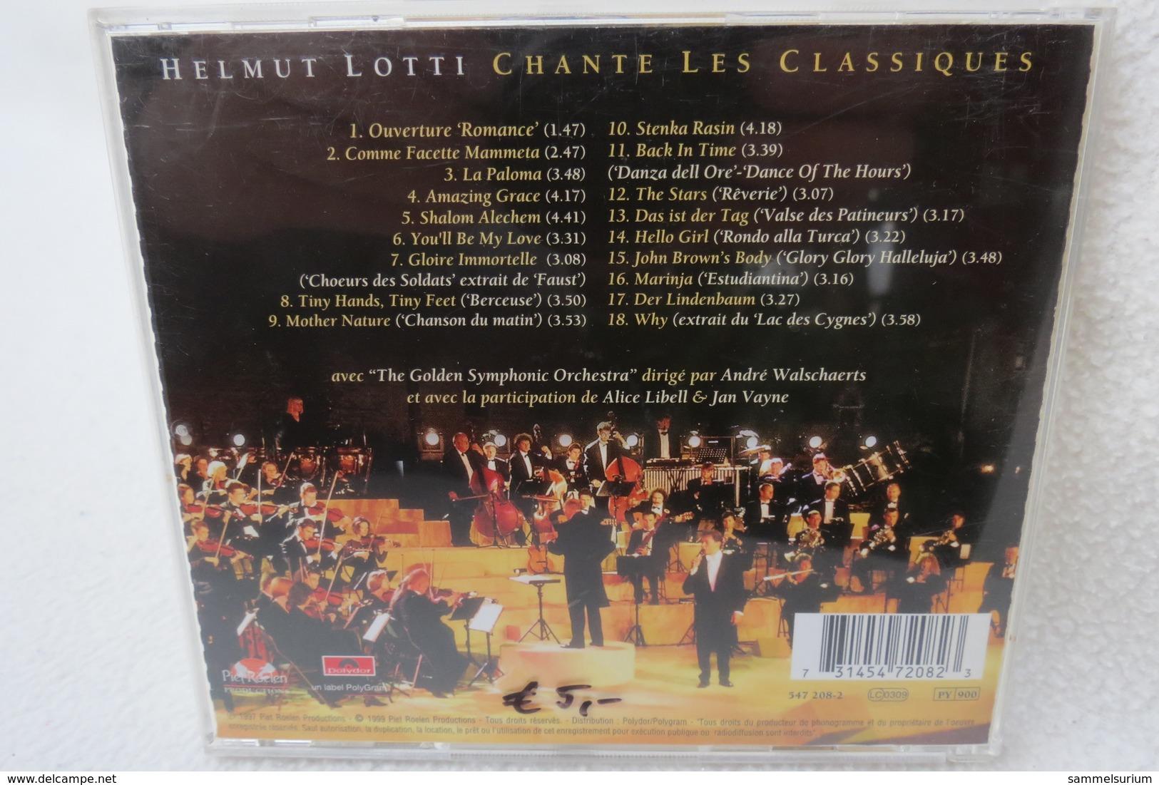 """CD """"Helmut Lotti"""" Chante Les Classiques - Klassik"""
