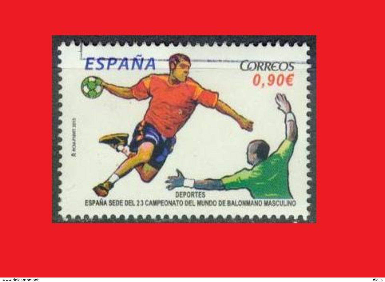 Spain Espagne,2013, Handball World Championship - Hand-Ball