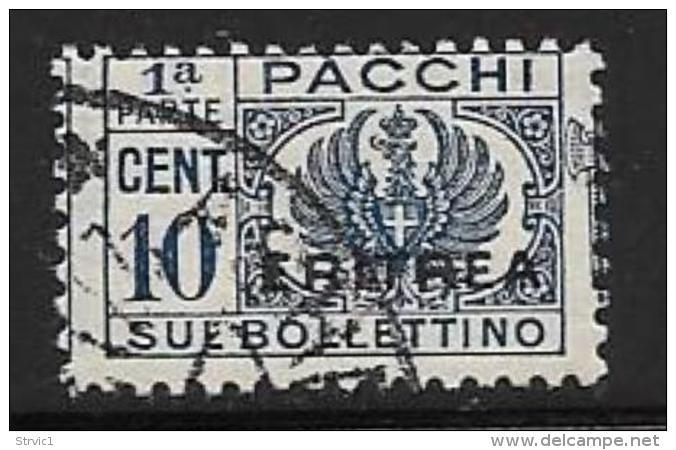 Eritrea, Scott # Q21A Part 1 Used Parcel Post,1937 - Eritrea