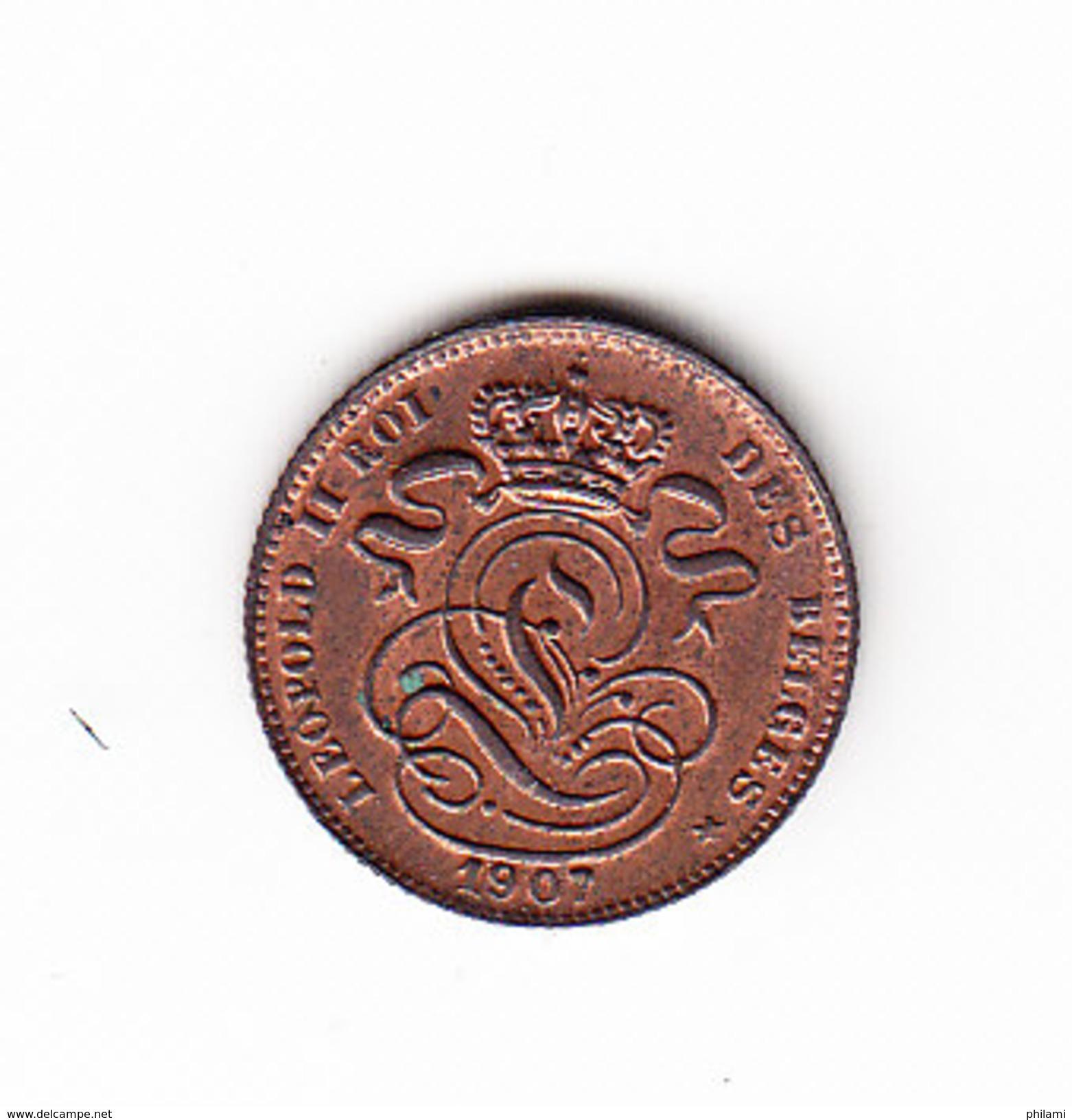 BELGIUM MORIN CAT N° 234  UNC  1907  (AL05) - 1865-1909: Leopold II