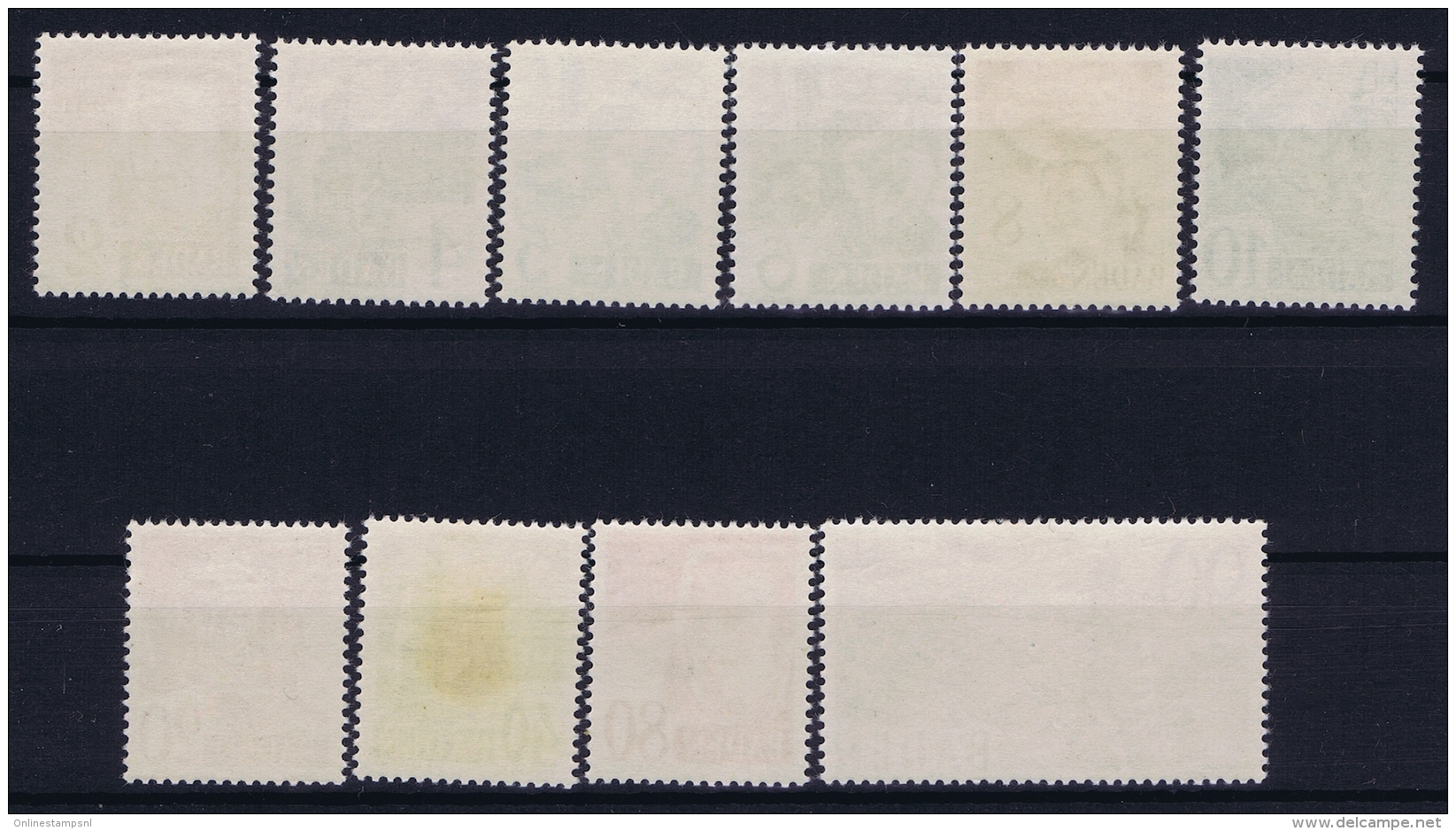 French Occ. Zone Baden Mi 28 - 37  MNH/**/postfrisch/neuf Sans Charniere 40 Pf Nr 35 = MH/* - Französische Zone