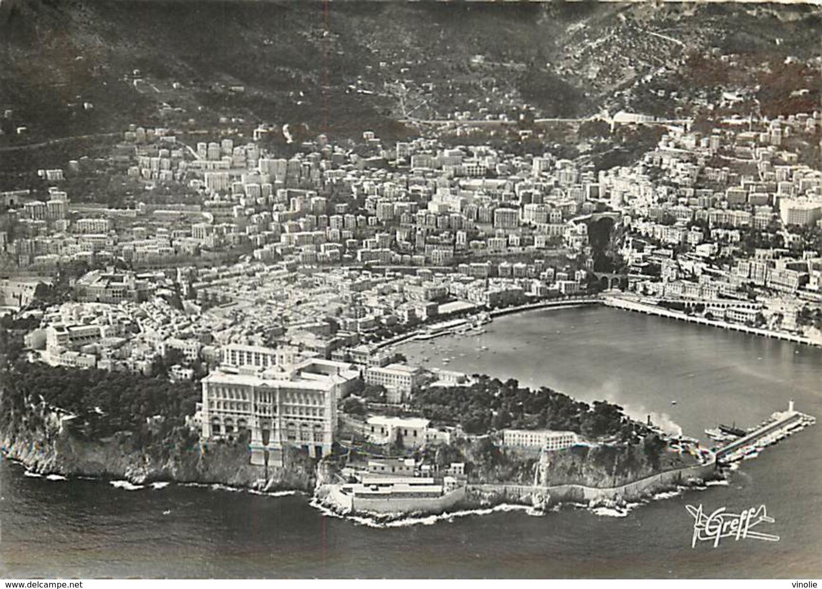PIE 16-5456 :  MONTE-CARLO. MONACO. VUE AERIENNE - Monte-Carlo