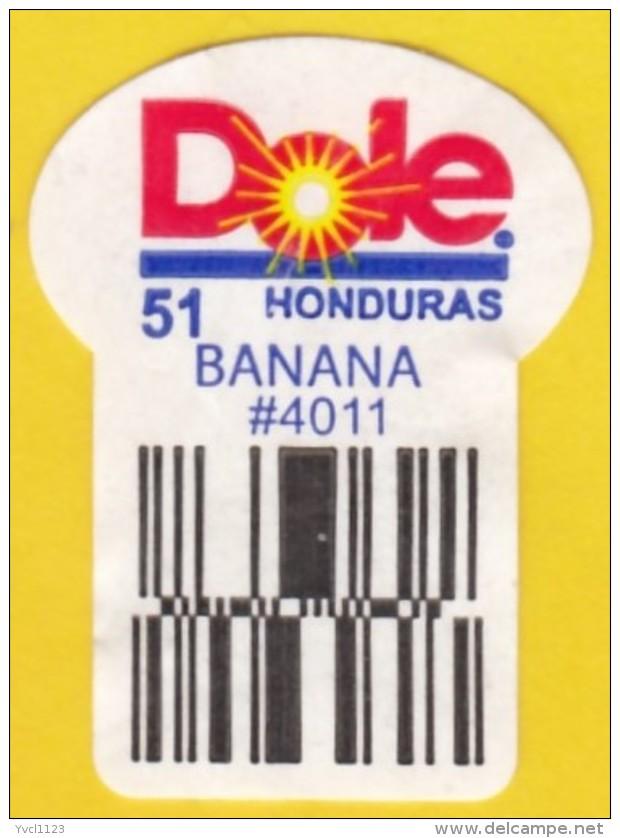 Fruits & Vegetables - Dole Banana, Honduras (FL4011-1) - Fruits & Vegetables