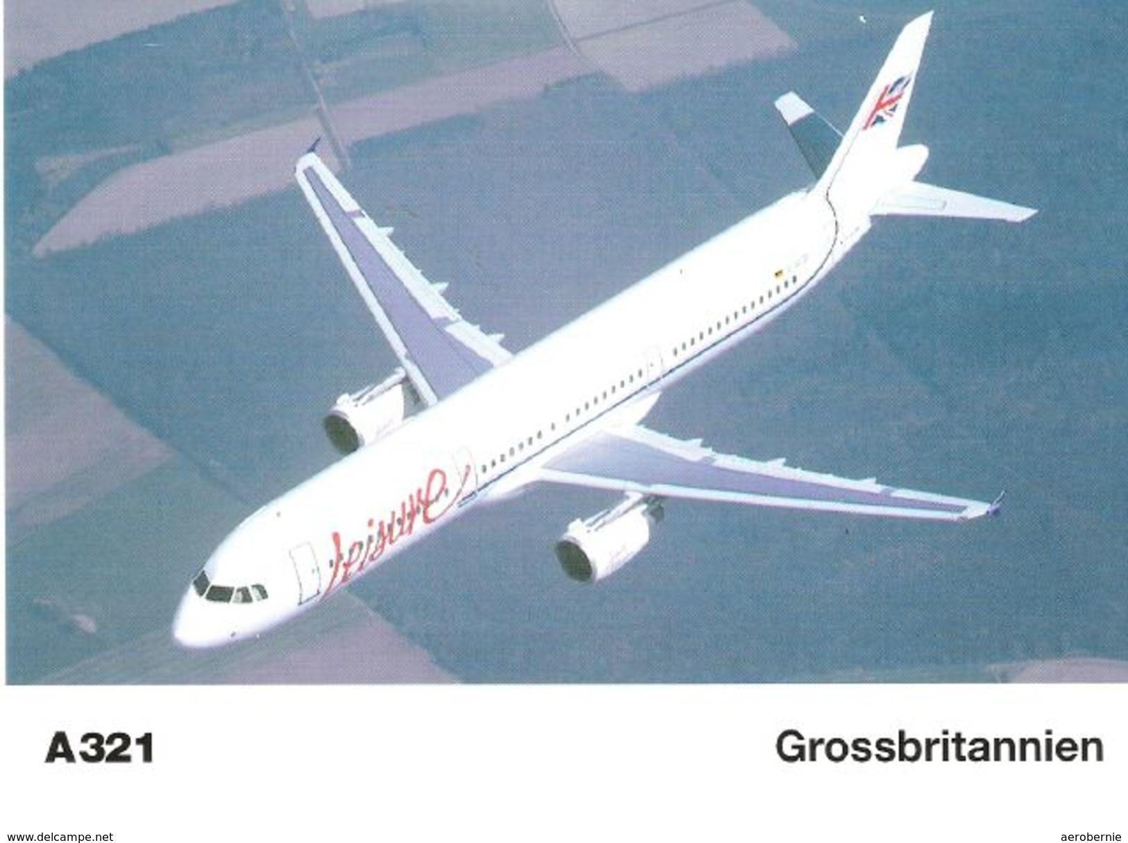 LEISURE INTERNATIONAL AIRWAYS - Airbus A-321 (Airbus Issue) - 1946-....: Moderne